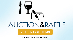 Silent Auction and Raffle. See list of items.